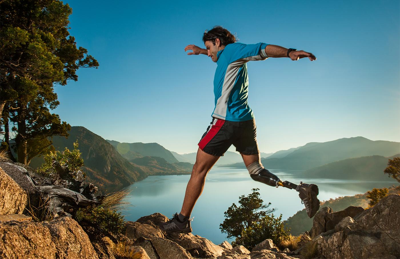 Running in Patagonia Argentina