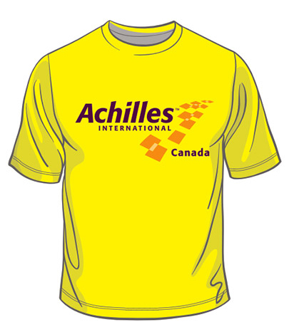 Achilles Men's T-shirt Front