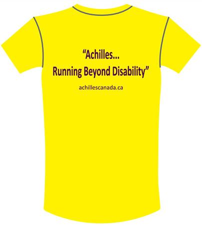 Achilles Women's T-shirt Back